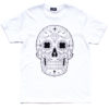 Day of the dead Mexican Sugar Skull Tee White
