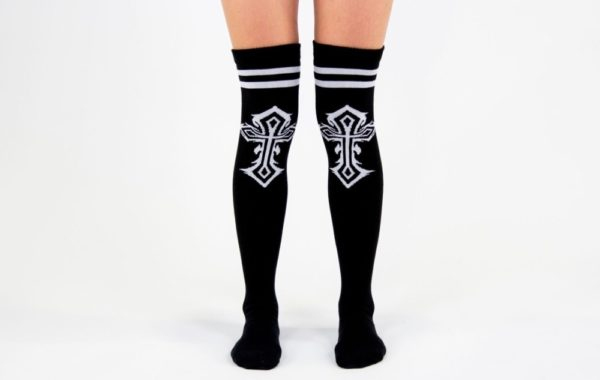 Celtic Cross High Sock