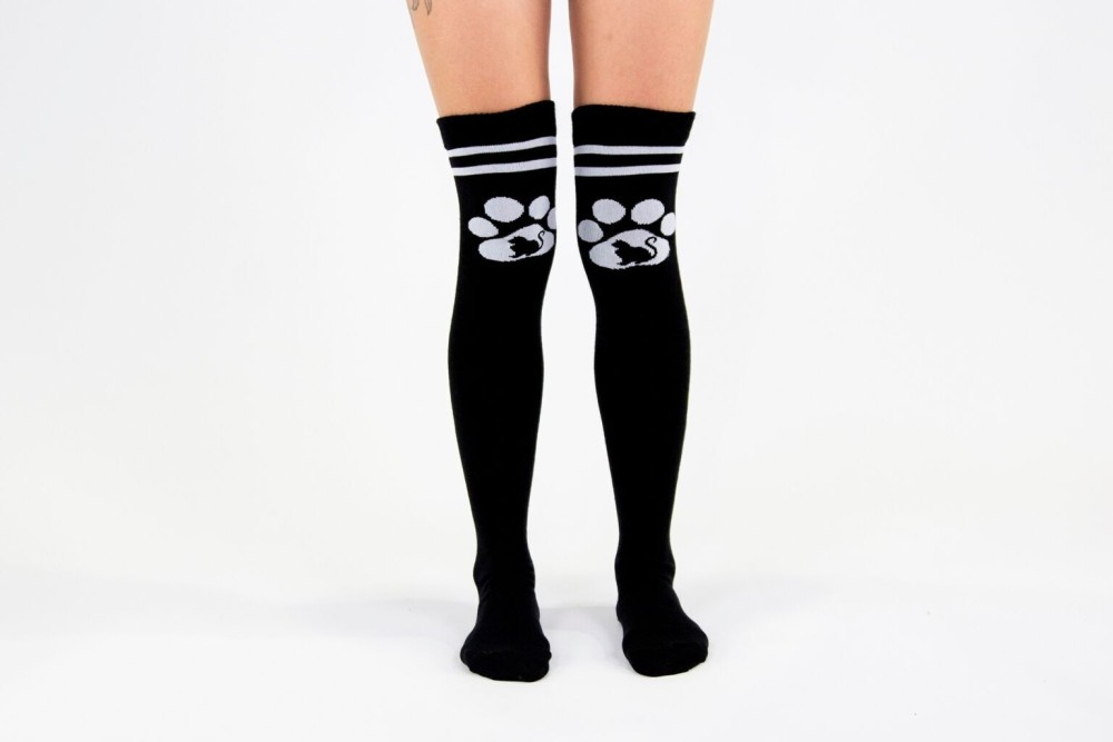 Kitty High Socks
