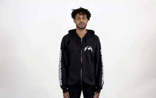 Night Vision zup up hoodie