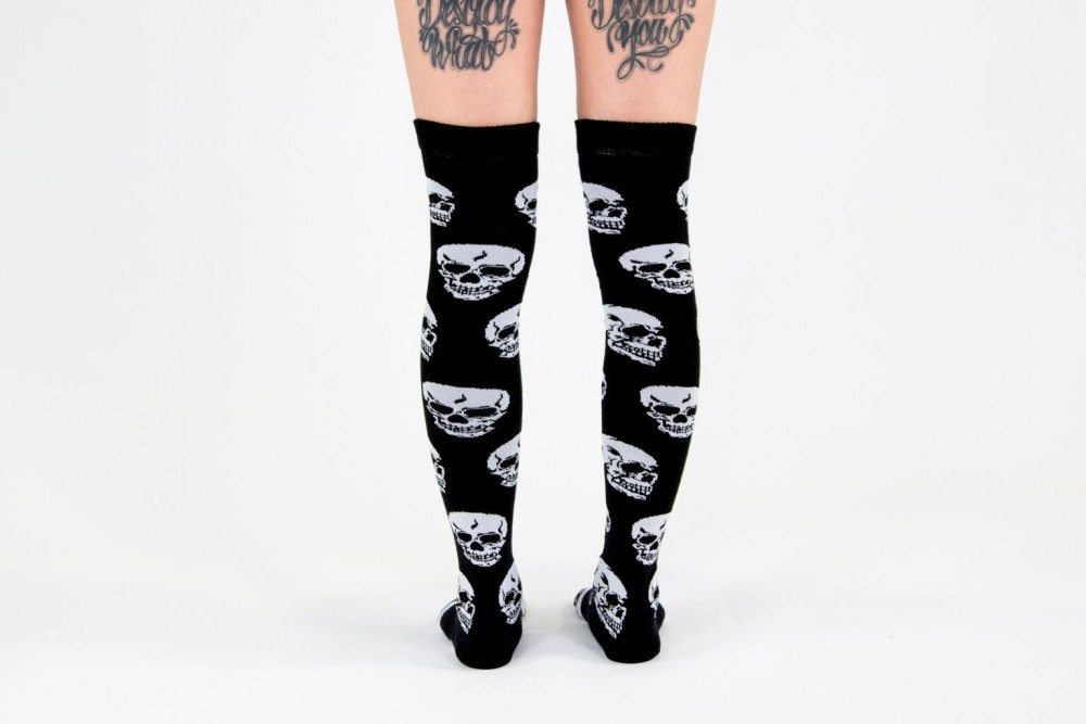 Skulls High Socks