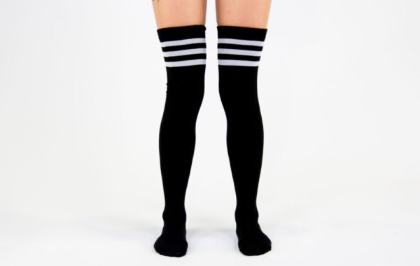 Sports Stripes High Socks
